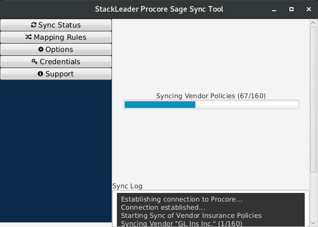 Stackleader procore sage sync tool 018