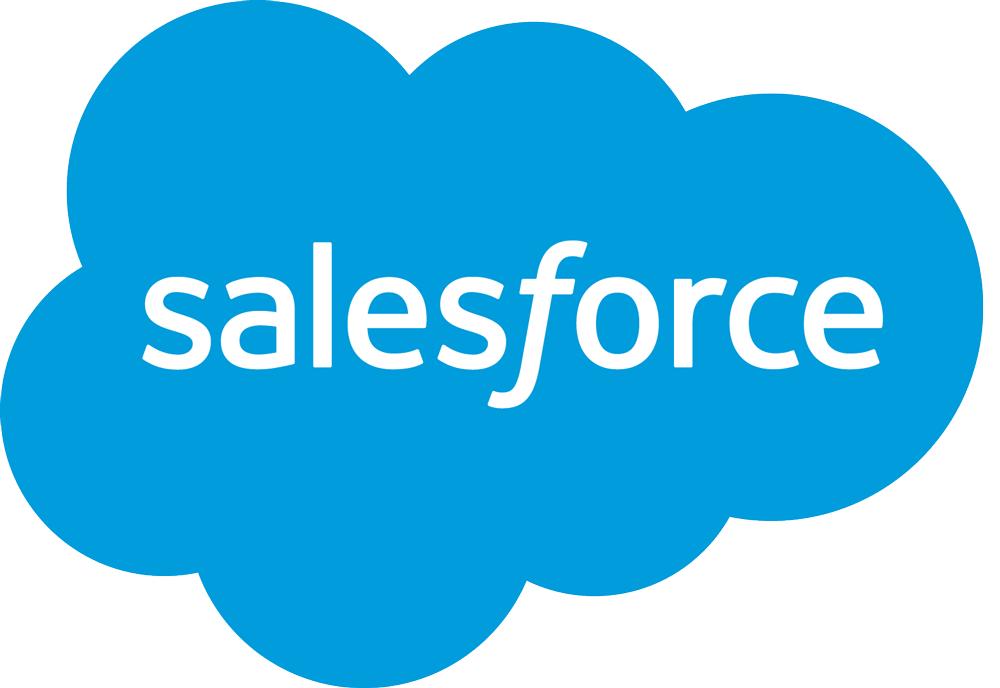 Salesforce logo detail