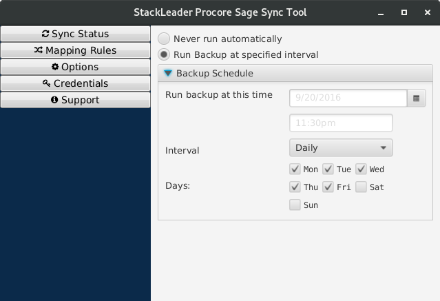 Stackleader procore sage sync tool 020