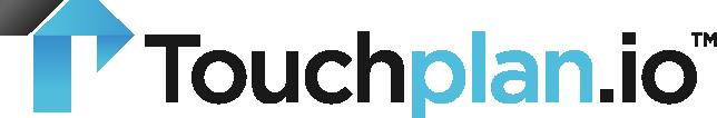 Touchplan logo white background