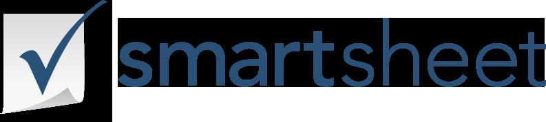 Smartsheet logo navy horizontal